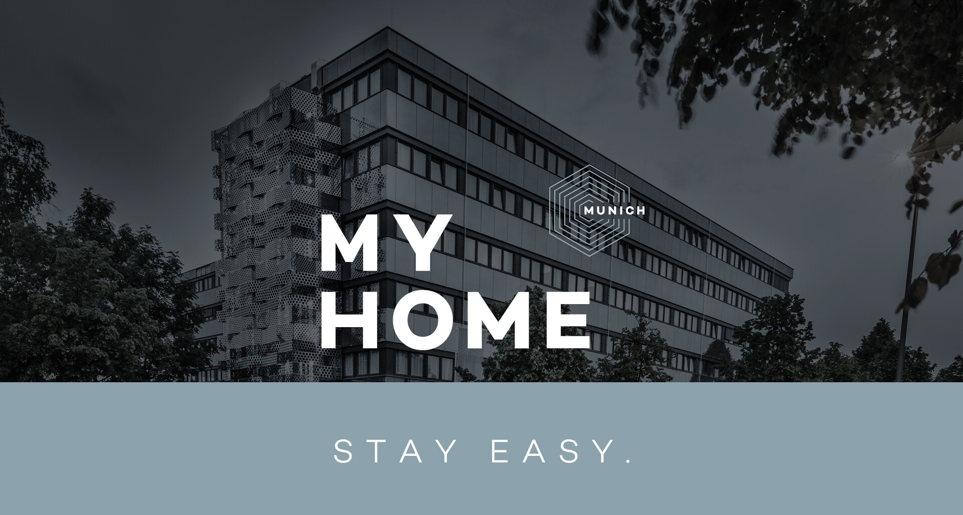 My Home | Sanmiguel Brand Partner | Logo | Munich - Stay Easy