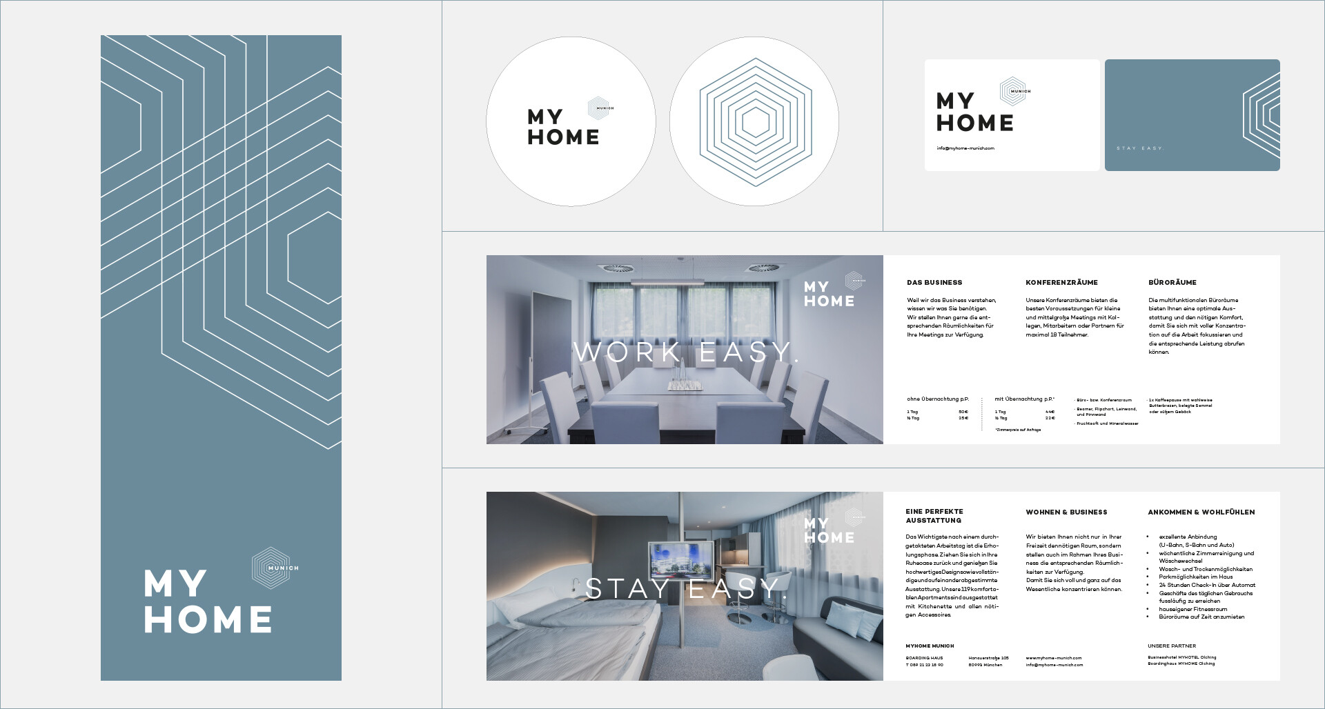 My Home | Corporate Identity - Print - Info flyer